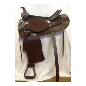 Saddle Western Imported Brown-1071