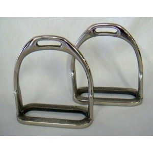 Stirrup Irons Child SS Ideal For Children-210
