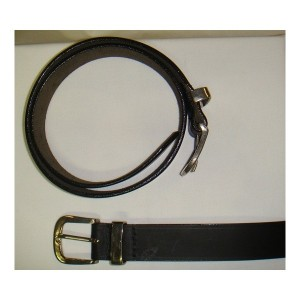 Belts Leather Economy Black-278