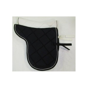 Numnah equishape dressage quilted and piped-414