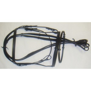 Bridles Economy Full Leather Black And Brown-8