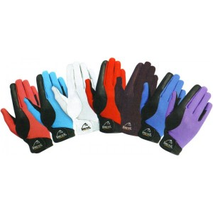 Horse tech leather airflow gloves-751