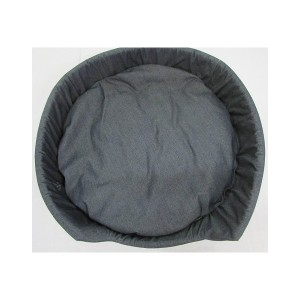 Dog bed grey denim-944