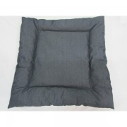 Dog bed grey denim-945