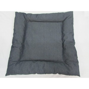 Dog bed grey denim-945