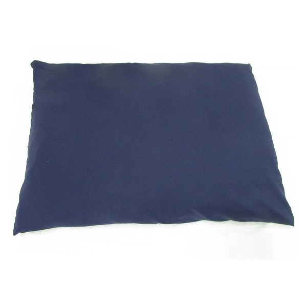 Dog bed navy with side zip-948