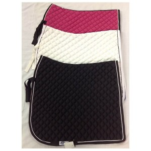 Numnah dressage equisquare small quilt with metalic piping-1039