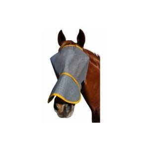 Fly mask webbing with nose-1084