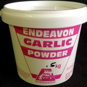 2 garlic powder .5kg