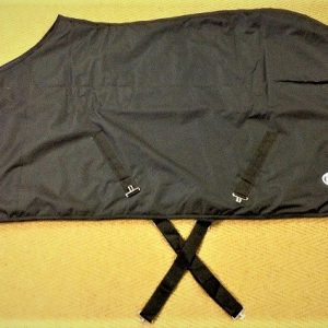 BLK037AA Rider Blanket Cotton-lined - no pleats - 2 straps